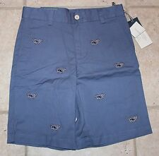 NWT Vineyard Vines Boys Size 16 Classic Fit Breaker Candy Cane Whale Shorts