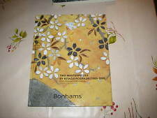 BONHAMS CATALOGUE TWO MASTERPIECES JAPANESE ART BY KITAOJI ROSENJIN NOV13