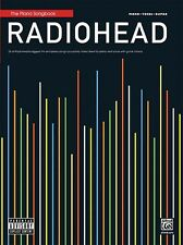 Radiohead Sheet Music Piano Vocal Guitar SongBook NEW 000322394