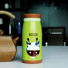 NEW Cartoon Stainless Steel Vacuum Cup Thermos Mug Travel Office Water Bottle