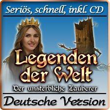 Legenden der Welt - Der unsterbliche Zauberer Deluxe - PC-Spiel Deutsche Version