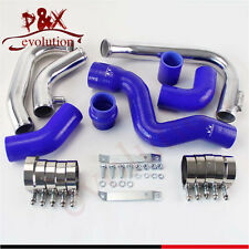 For 2002-2006 Audi A4 1.8T Turbo B6 Quattro Intercooler Piping pipe Kit Blue
