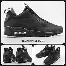 Nike Air Max 90 Sneaker Boot Mid SP Winter 806808-002 UK 9.5, EUR 44.5, USA 10.5