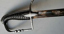 NAPOLEONIC FRENCH WAR OF 1812 INFANTRY OFFICER'S SABRE SWORD C 1805-10 WATERLOO
