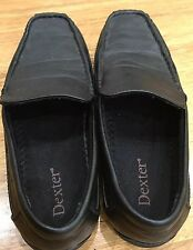 Dexter Size 6 Wide Flats Black Leather Shoes As New High Quality Us Brand