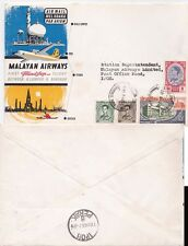 Thailand 1963 First Flight Malyasian Airlines Bangkok to Ipoh