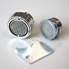 Aguaflux® Stahlregler M24 mit MONTAGESCHLÜSSEL, Aussengewinde, Messing