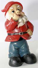 GARDEN GNOME CHEEKY & NAUGHTY Gnome on Spring Wobbly Body 15cm Really Cute NEW