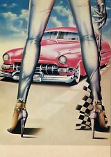 CP / POSTCARD / ILLUSTRATEUR / CAR / VOITURE / JUDGEMENT DAY PAR A. DANIELS 1979