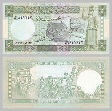 Syrien / Syria 5 Pounds 1991 p100e unz.