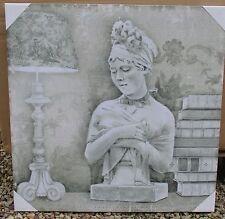 toile sur chassis portrait femme Juliette Récamier Mathilde M déco de charme