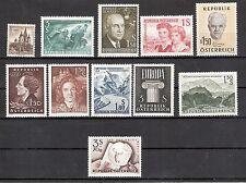 Österreich 1960 Kompletter Jahrgang Postfrisch ** MNH