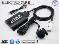 BLUETOOTH INTERFACE AUXILIAIRE MP3 AUTORADIO COMPATIBLE AUDI A3 2007 à 2012
