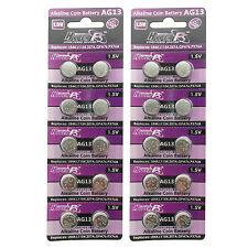 20PCS AG13 LR44 LR154 157 303 1.5V Alkaline Button Cell Watch Battery HyperPS