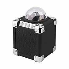 ION Audio Party On Ultra Compact Bluetooth Speaker with Built-In Party Lights
