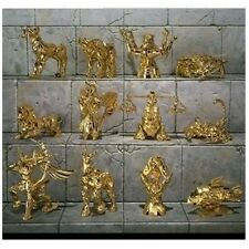 12pcs Saint Seiya Gold Zodiac Gemini Saga Twelve Constellation PVC Figure No Box