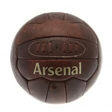 Arsenal Fc Retro Heritage Football Brown Leather Style Soccer Fan Gift Sport New