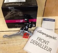 Campagnolo Athena 11 Speed Black Braze On Front Mech Derailleur UK Seller IBD