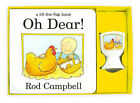 NEW GIFT SET - OH DEAR! EGG CUP and LIFT THE FLAP board book Rod Campbell ZOO
