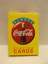 Coca Cola ALWAYS #W5229 Single Deck Playing Cards Pristine Condition USPCC 1994!