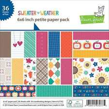 NEW LAWN FAWN SWEATER WEATHER 6X6 PAPER PAD