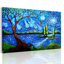 HD Canvas Prints Decor Wall Art Painting Picture-Abstract Apple Tree Unframed