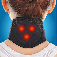 Tourmaline Magnetic Therapy Neck Massager Cervical Vertebra Protection Refined