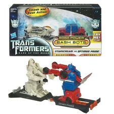 TRANSFORMERS 28753/28955 BASH BOTS - STARSCREAM VS OPTIMUS PRIME NEU & OVP!