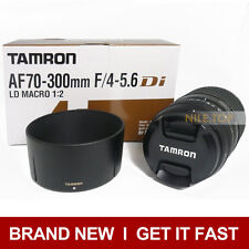 New Tamron AF 70-300mm f/4-5.6 Di LD Macro 1:2 For Nikon D3100 D3200 D3300 D5100