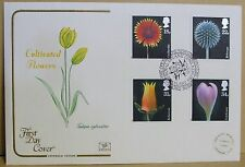 1987 Cotswold GB First Day Cover with Special Postmark -  Cultivated Flowers