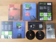 CAN - BOX (Liebezeit/Schmidt/Czukay/Karoli)(RARE 2CD/Book/VHS Box Set 1999)MINT