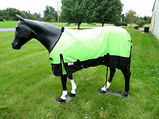 Horse Turnout  Sheet / Waterproof /   Ripstop / Neon Green 78""
