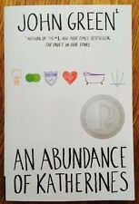 An Abundance of Katherines, by John Green (2008, Paperback)