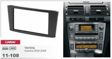 CARAV 11-108-22-6 Fascia Install dash Kit for for TOYOTA Avensis T25 double DIN