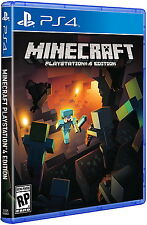 Minecraft - PlayStation 4 Ps4 Games Sony Brand New Factory Sealed