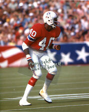 MIKE HAYNES photo in action HOF New England Patriots 1977 (c)