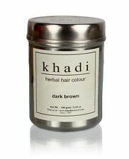 Khadi Natural Herbal Dark Brown Henna Hair Color Unique Formulation 150 GM
