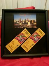2 Unused 1996 Atlanta Olympics Baseball Tickets Picture Framed Collector's Item