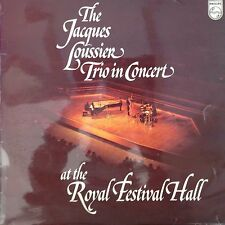 JACQUES LOUSSIER TRIO AT ROYAL FESTIVAL HALL: 1974 Philips LP ACB00168