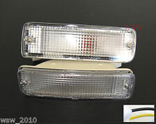 TOYOTA HILUX PICKUP 89-95 CLEAR BUMPER LIGHT 1990 1991 1992 1993 1994 1995