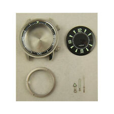 S.STEEL COMPRESSOR CASE WITH  DIAL HANDS RING FOR ETA 2824-2