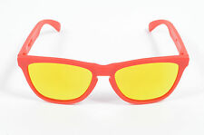 Oakley FROGSKINS B1B Collection Sunglasses Matte Red w/ Fire Iridium OO9013-48