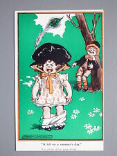 R&L Postcard: Comic, Fred Spurgin Inter Art Kidaoo 381, Pants Falling Down