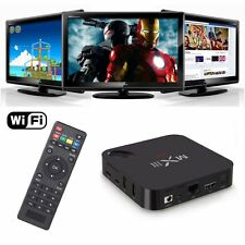 MX3 2GB Ram Quad Core Android TV Box 5G Wifi 8GB 4K completamente cargada 2GHz Wifi