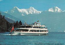 AK Motorschiff Blümlisalp Thunersee Eiger Mönch Jungfrau  Thun Bern Dampfer Boot