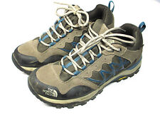 The North Face Womens Hiking Shoes Size 7 Trail Vibram Soles Hydraseal Nice!
