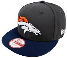 New Era NFL Denver Broncos Graphite Casquette Snapback S M 9fifty