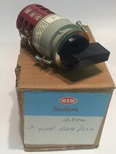 SANTON N10P-B02 HEAVY DUTY 3 POLE 3 POSITION  ROTARY CONTROL SWITCH        faa~4