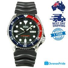 Seiko Automatic Blue Dial Black Strap Divers SKX009 SKX009J1 SKX009J Men's Watch