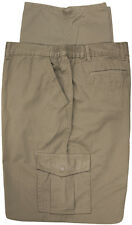Big & Tall Men's Casual Cargo Pants with Side Elastic by Full Blue Sizes 48 - 64